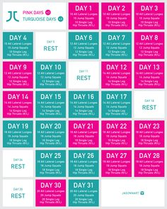 how to tone your lower body in just 30 days | The Foolproof Workout Plan For Toning Your Lower Body In Just 30 Days