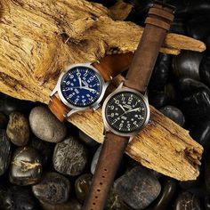 Timex Expedition Scout Is Everything You Need In A Watch And Under $35 Timex Expedition, Field Watches, Brown Leather Strap Watch, Timex Watches, Wood Watch, Watches For Men, Accessories, Swimming, Amazon