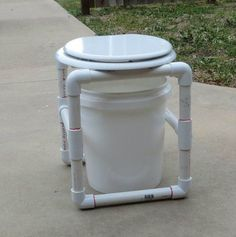 Myo travel potty tips n tricks pinterest homemade camping and as you start to gear up for summertime camping check out these 11 pvc diy camping projects that youll want to give a try solutioingenieria Image collections