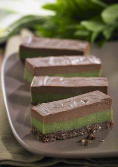 Chocolate Mint Slice - Dr Libby