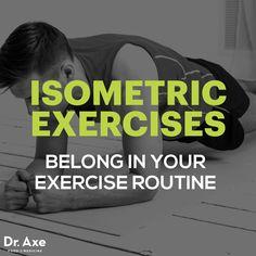 Isometric exercises - Dr. Axe http://www.draxe.com #health #holistic #natural #detox
