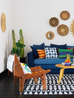 Old Brand New •Justina Blakeney for Jonathan Louis Furniture