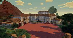 Minecraft House Schematic