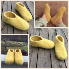 Enkle tova tøfler Sock Shoes, Baby Shoes, Boot Toppers, Knitting Patterns, Diy And Crafts, Slippers, Socks, Crochet, How To Make