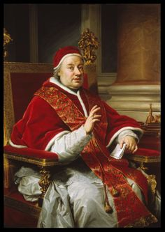 Anton Rafael Mengs, Pope Clement XIII 1759