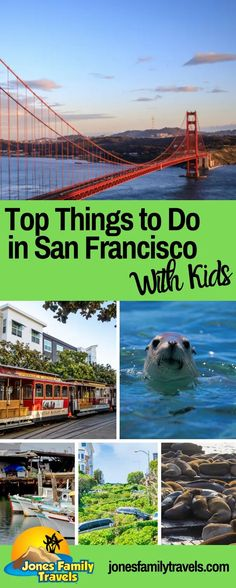 Our favorite big city in the US is San Francisco! This city has so much fun for the whole family. We share the top things to do in San Fran with kids. #sanfran #visitcalifornia #sanfrancisco California With Kids, Visit California, California Travel, San Francisco With Kids, San Francisco Travel, San Francisco Vacation, Places To Travel, Travel Destinations, Places To Visit