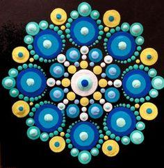 Blue & Yellow Mandala