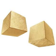 Claude Chavent  Mini Cubes Earrings