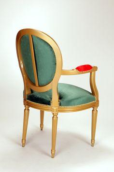 Peinture polyuréthane Or - Velours luxuriant très haute qualité Vert Sapin / Rouge Boule de Noël - Rivets à tête rondes Or