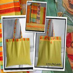 Upcycling-Beutel zum falten und zuknöpfen aus Omas kleiner Tischdecke Shopping Bags, Band, Tote Bag, Fashion, Old Clothes, Small Bags, Bags Sewing, Repurpose, Moda