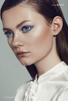 Out Of The Blue - Photographed by Daniel Scheel  Retouch Sebastien Galtier Model Alina Shemetova // Trend Models MUA/Hair Sonia Ezama