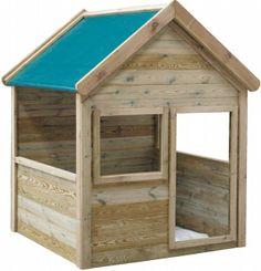 Caseta infantil maría 122x120x160cm - 249,99€ — Comprar Casitas infantiles Jardinitis