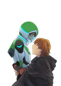 My Little Sister- Pidge and her brother, Matt Holt's reunion from Voltron Legendary Defender