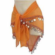 You only need a few items to make an effective and beautiful belly dancing scarf. You can make the perfect belly dancing scarf to accompany and accentuate your sensual and hip-shaking moves in three simple steps.