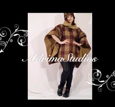 Wool woman poncho with hat .Warm, comparable and easy to wear #wool#woman#poncho#handmade#hat#design#sewn#style#girl#gift#wear#warm#comparable#beautiful#winter#classic#vintage#fashion Wool Poncho, Girl Gifts, Marketing And Advertising, Classic Style, Etsy Seller, Vintage Fashion, Hat, Woman, Trending Outfits