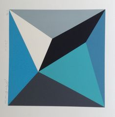 Gravura Griz IV de Antonio Peticov Geometric Drawing, Abstract Geometric Art, Geometric Designs, Geometric Shapes, Op Art, Art Conceptual, Art Optical, Contemporary Paintings, Design Art