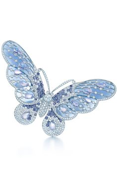 The Most Extravagant Gifts Money Can Buy At Tiffany's High Jewelry, Jewelry Art, Fashion Jewelry, Jewelry Gifts, Butterfly Fashion, Butterfly Jewelry, Aquamarine Jewelry, Diamond Jewelry, Tiffany Gifts