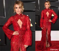 Grammy 2017: Carrie Underwood - Fashionismo