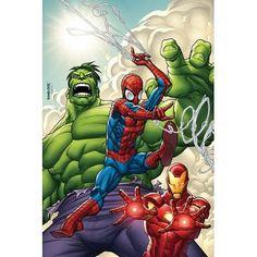 marvel avengers assemble 2 comic wallpaper mural consalnet