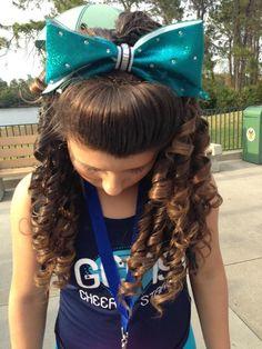Terrific Cheer Hair Cheer And Cheerleading On Pinterest Short Hairstyles Gunalazisus