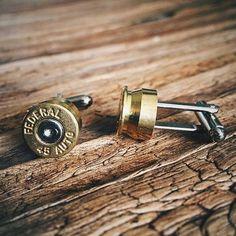 Bullet Cuff Links