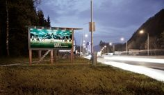 Billboards has already electricity because of the night traffic - so why not use it for a better cause?