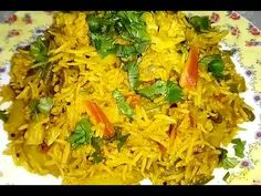 Today I am sharing the recipe of Delicious Vegetable Pulav. Serve it along with curd or rayta and enjoyyyy. Microwave Recipes, Rice Recipes, Ramzan Special Recipes, Cabbage, Vegetables, Youtube, Food, Essen, Cabbages
