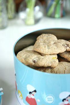 Kikkis planet: HJERTECOOKIES Cereal, Cookies, Breakfast, Desserts, Recipes, Food, Baking Soda, Crack Crackers, Morning Coffee