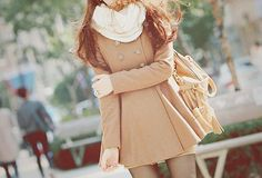 Scarf and coat - adorable~