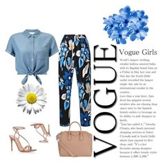 Untitled #407 by sanela-o on Polyvore featuring polyvore mode style Miss Selfridge Gianvito Rossi Givenchy fashion clothing