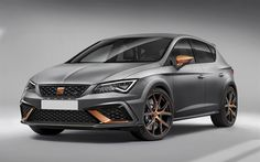 Download wallpapers SEAT Leon Cupra R, 4k, 2017 cars, tuning, new Leon, SEAT
