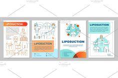 Leaflet Printing, Liposuction, Newsletter Templates, Page Layout, Plastic Surgery, Brochure Template, Booklet, Print Design, Custom Design