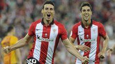 Athletic Bilbao 4- Barcelona 0   Primer round de la Supercopa de España 2015. 'Hat trick' de un espectacular Aduriz, que deja al Barça al pie de los leones - MARCA.com