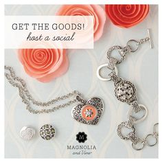 Get the goods, host a social with Magnolia and Vine.