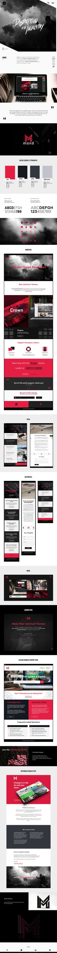 Awesome case study layout including UI style guide http://engzell.me/