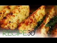WOW! Baked Garlic and Parmesan Potato Wedges - YouTube