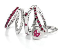 @stackableexpres  Created Ruby Ring Stack