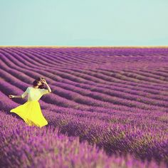 .@Gary Pepper | Dreaming in fields of lavender in Provence with @lancomemakeup