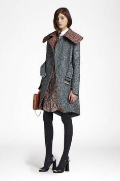 The Look: Carven Pre-Fall 2013