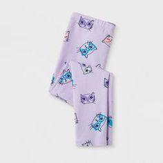 Toddler Girls' Leggings Pants - Cat & Jack Purple Size: 18 M Purple Leggings, Girls Leggings, Leggings Are Not Pants, Toddler Pants, Toddler Girls, Whimsical Fashion, Cat And Jack, Cat Pattern, Your Girl