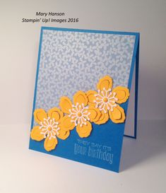 Pals Paper Crafting Card Ideas Botanical Mary Fish Stampin Pretty StampinUp