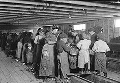 Criancas EUA Fotografias Hine Historia Infantil Lewis Trabalho