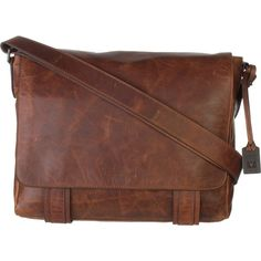 Frye Logan Messenger Bag (6 185 ZAR) ❤ liked on Polyvore