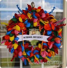 How to Make a DIY Birthday Balloon Wreath