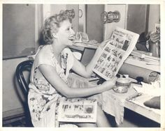 Very Very Young Vivian Vance (Ethel from I Love Lucy)