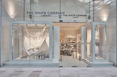 The White Company – Summer Living May 2016 windows by Lucky Fox, UK » Retail Design Blog