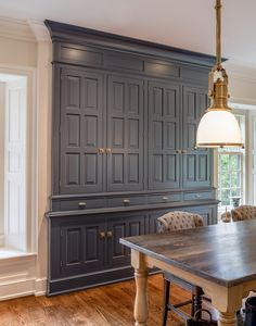 Traditional prep kitchen, formal pantry, butler's pantry built-in in Delaware by Period Architecture - Lookbook - Dering Hall