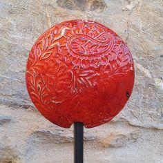 Keramik Gartenstecker von isi-way.com
