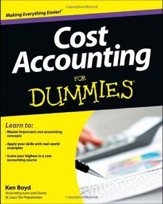 Textbook solutions manual for cost accounting a managerial emphasis cost accounting for dummies fandeluxe Images