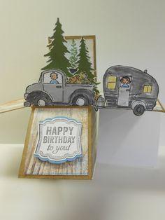 Son's B-Day Card by Linda Creech